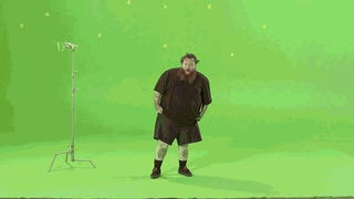 Action Bronson Does The Splits, Dunks On Godzilla