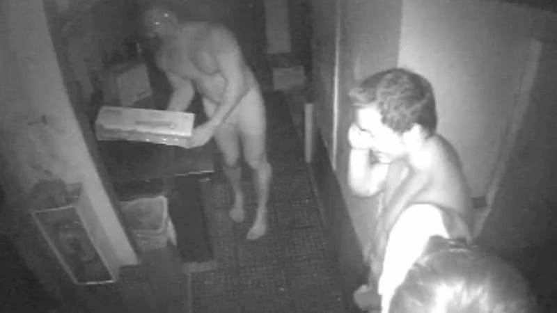 Naked Burger Thieves On The Lam In Florida Beach Town