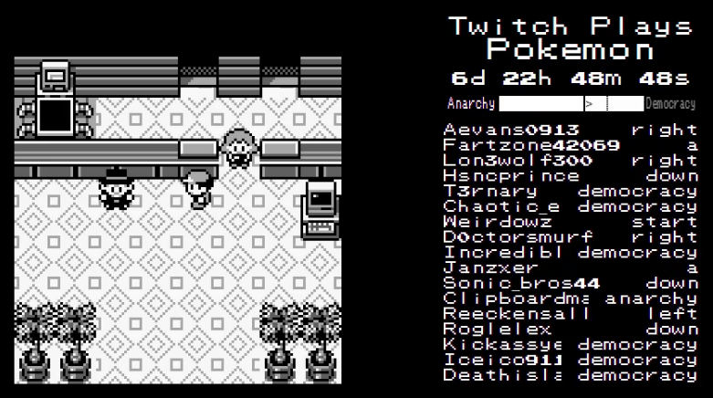 'Twitch Plays Pokémon' Is Breaking Parts Of Twitch