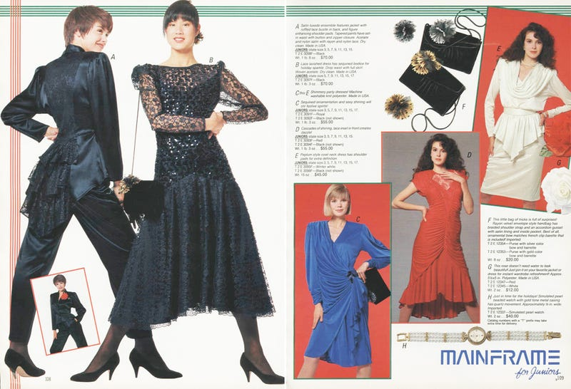 Let's Shop For Cocktail Dresses in 1988