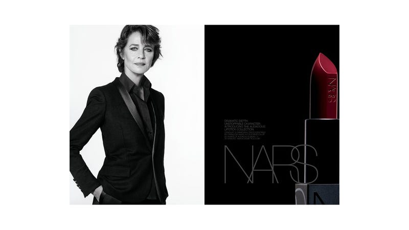 68-Year-Old Charlotte Rampling Stars in New Nars Lipstick Ads