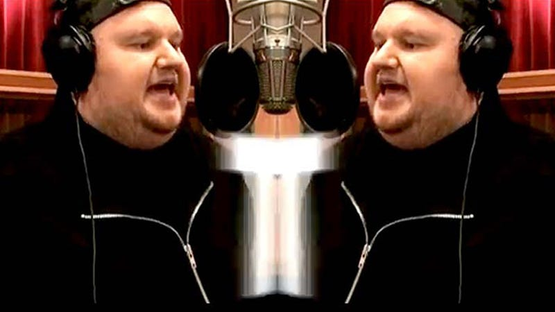 What the Hell Is Kim Dotcom Singing?