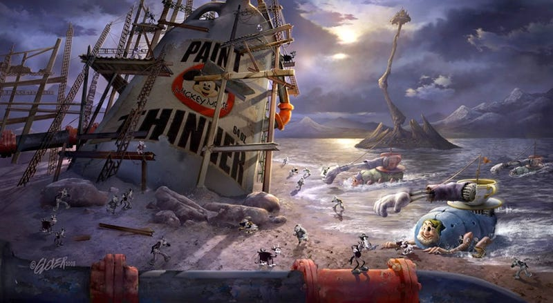 "Details On The ""Epic Mickey"" Game"