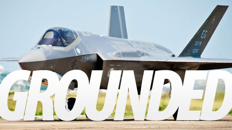 The Trillion Dollar F-35 Is Grounded Yet Again