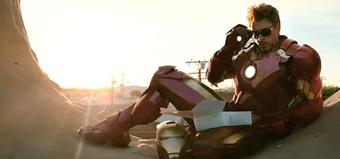 Watch Tony Stark Eat Doughnuts In New Iron Man 2 TV Spot