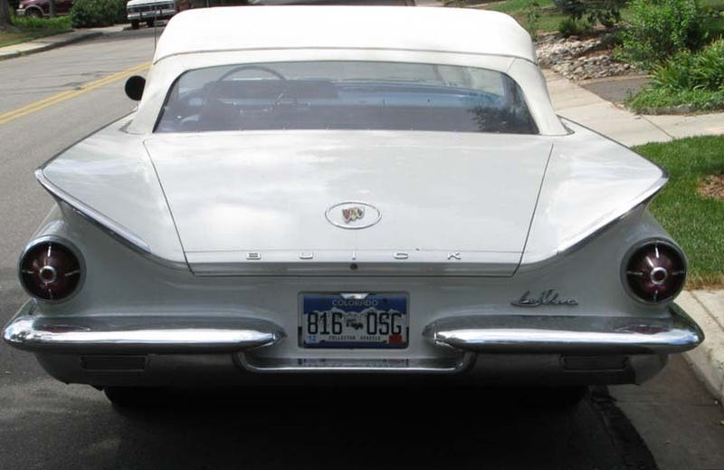 DOTS-O-Rama, Rocky Mountain Edition: 1960 Buick LeSabre Convertible