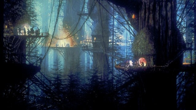 Man Builds Massive Ewok Village Replica