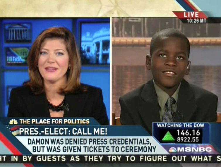 Kid Reporter Wants Obama To Be His Homeboy