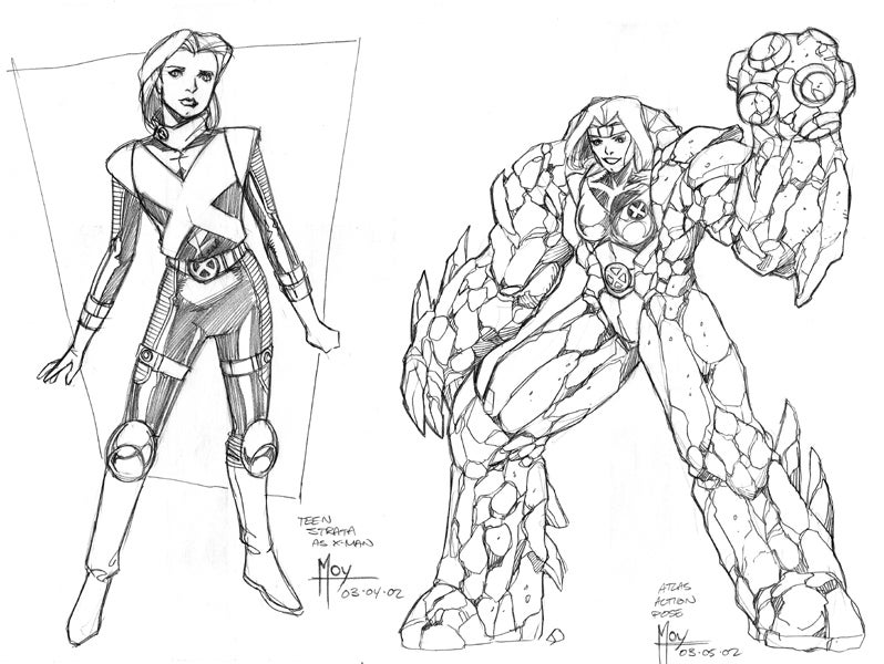 This Concept Art Features X-Men, Jedi Knights (and Jedi Outcasts!)