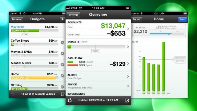 Mint Adds Budgeting and Split Transactions for iPhone and iPad