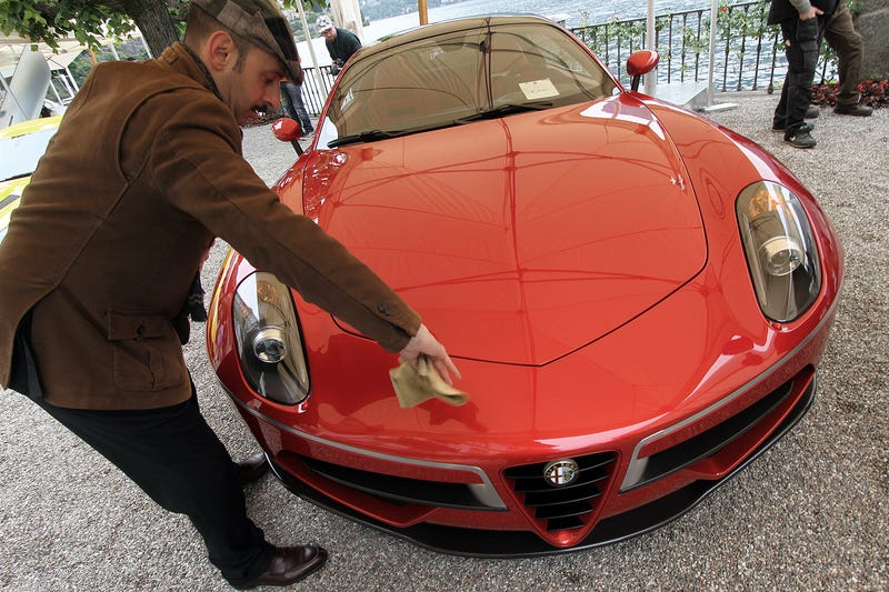Ralph Lauren's $40 Mil Bugatti Wins World's Most Prestigious Car Show