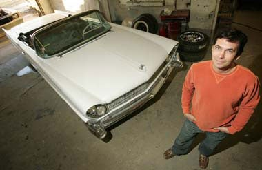 Neil Young's Lincvolt: An All-Electric 1959 Lincoln Continental Mark IV Convertible