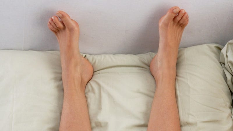 Woman's Orgasmic Left Foot Totally Doesn't Need To Call The Next Day