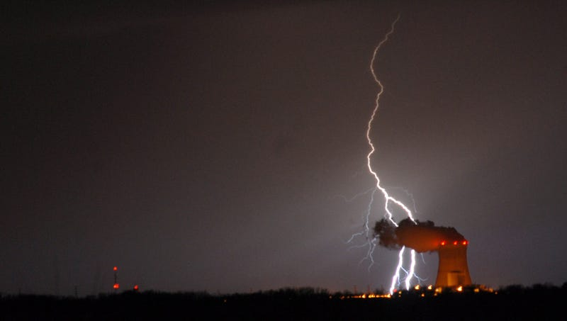 The Wrath of God or Just a Huge Atmospheric Discharge of Electricity