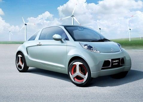 Tokyo Auto Show: Mitsubishi i MIEV Sport