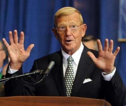 ESPN's Inconsistent Hitler Reference Policy Enables Lou Holtz to Get a Pass