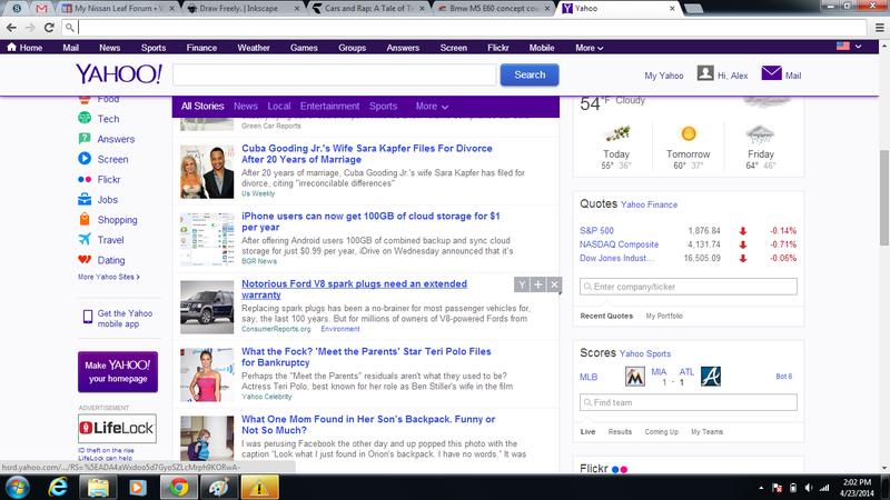 I'm impressed Yahoo!