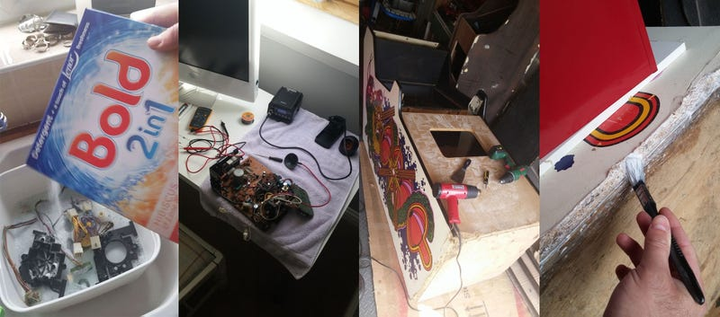 How A Filthy Old Arcade Cabinet Is Restored To Its Former Glory
