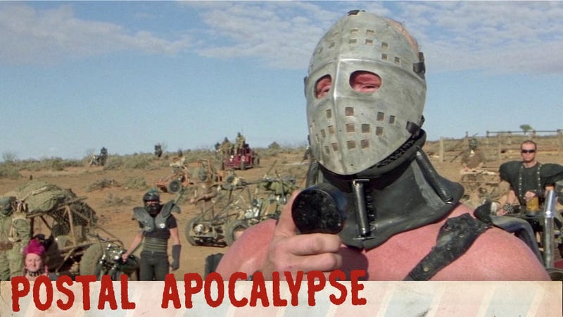 Why do post-apocalyptic people dress like morons?