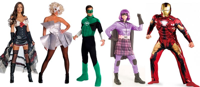 The weirdest, wrongest and sexiest new costumes for 2010