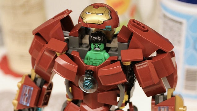 Go vote for this more menacing version of the Lego Hulkbuster armor