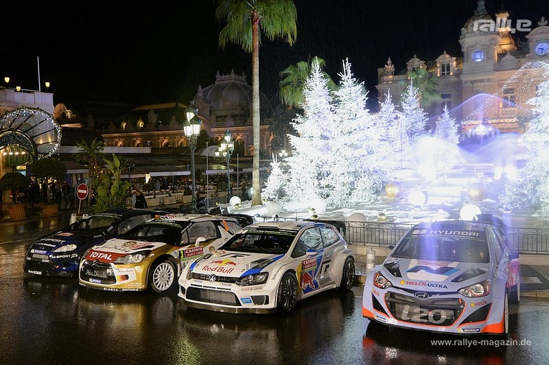 Rally Monte Carlo Week kicked off!