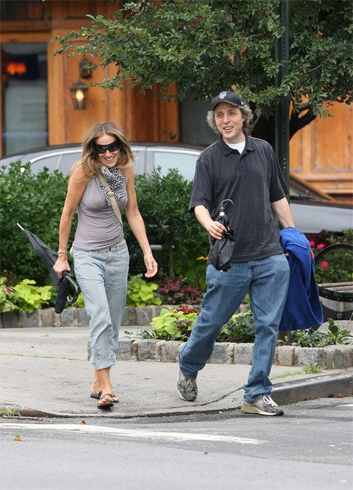 SJP Steps Out On Matthew With Another Mets Fan
