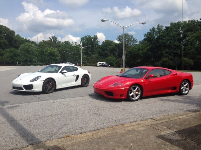 Would You Rather: Porsche Cayman S or Ferrari 360 Modena?