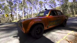 Meet Sandy Bowman's Ford Escort MK1 Rally Car