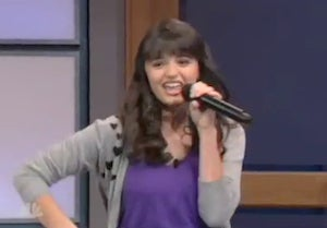 Rebecca Black Makes Her Tonight Show Debut