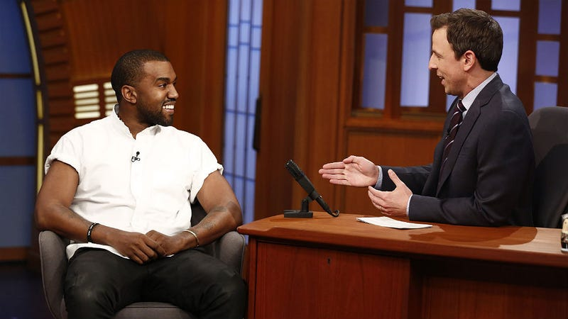 Kanye to Make 'Artistic Intellectual Kid-Friendly' Jams for Baby North