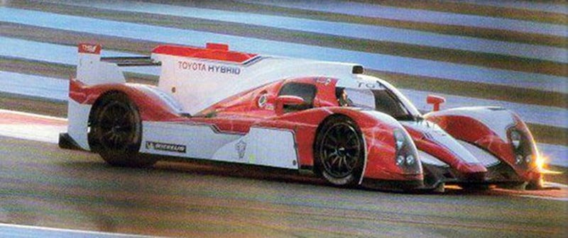 Toyota Le Mans Hybrid Prototype: First Photos