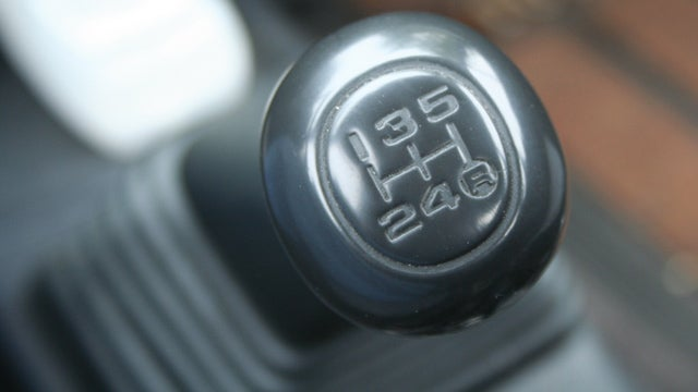 Not only are manual transmissions awesome, they're a theft deterrent