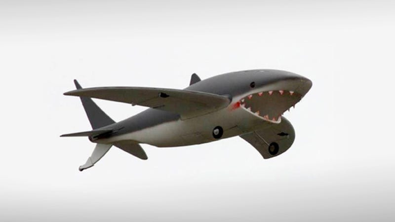 Yes, That's a Goddamn Flying Shark