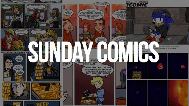 Sunday Comics: Kicked on the Curb