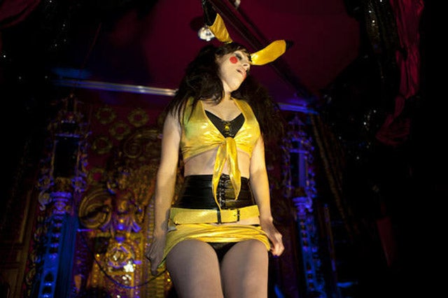 Pikachu Burlesque Gallery