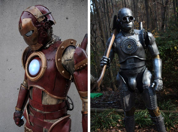 Steampunk Iron Man Costume Embroiled in Scandal