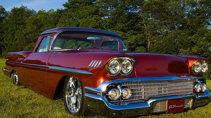 The 1958 El Nomado is the car-truck hybrid Chevrolet never made