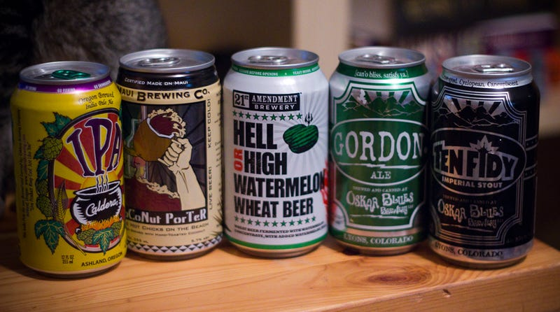 Canned Beer Is The Future of Good Beer