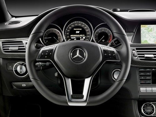 2012 Mercedes CLS: Interior Photos