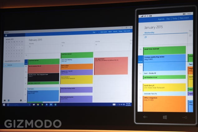 Here's How Windows 10 Apps Will Run Across PCs, Tablets, and Phones