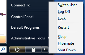Shutdown, restart, and sleep Vista from the keyboard