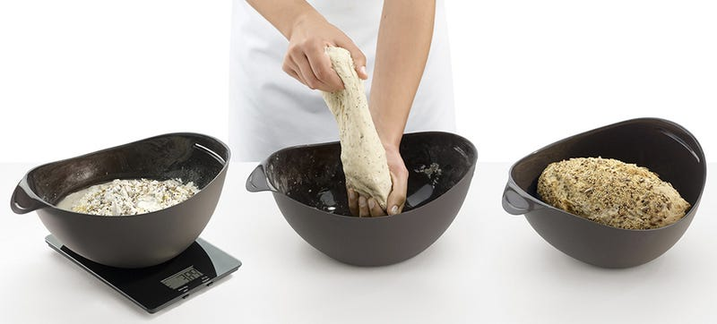 You Can Measure, Mix, Knead, and Bake Bread In this One Silicone Bowl