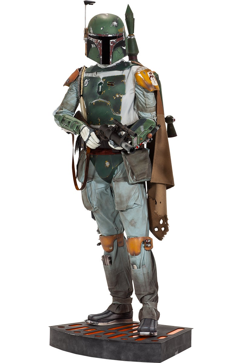 Your Star Wars Collection Isn't Complete Without a Life-Size $8,500 Boba Fett Figure