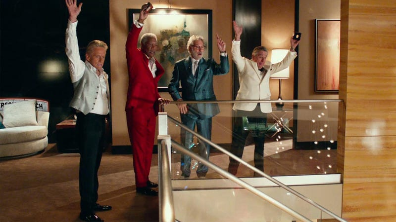 Geezer Minstrelsy. Last Vegas, Reviewed.