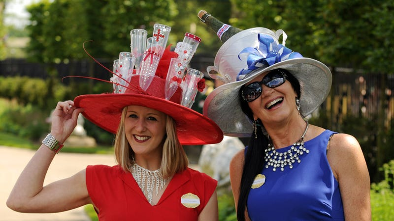 The Aristocracy Shows Off Their Hats, Glorious Hats at Royal Ascot