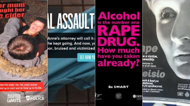 Police Have Great Advice on How Not to Get Raped This Christmas