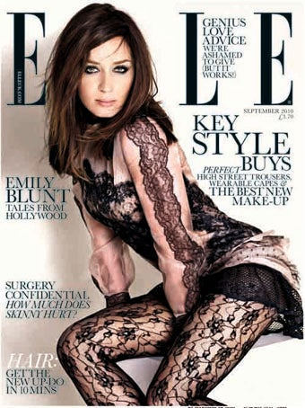 Emily Blunt Politely Declines The Photoshop, Thanks