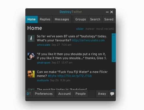 Five Best Twitter Clients