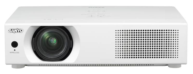 Sanyo LP-WXU700 Projector Utilizes Draft N Wi-Fi, FIRST!!